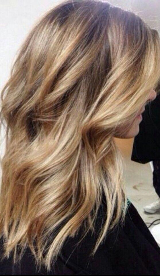 Balayage Wavy Hair Gorgeoushair Hair Pinterest Wavy Hair