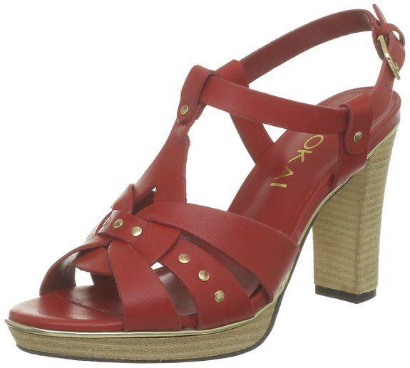 983f9582f6ba Kookaï - Sandalias de cuero para mujer  Zapatos