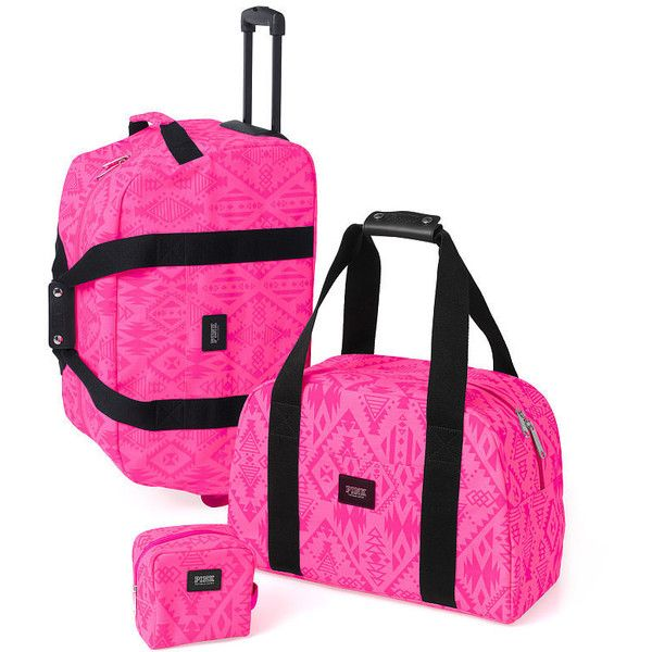 Victoria's Secret 3-piece Travel Set featuring polyvore women's ...