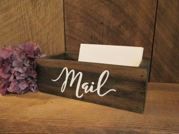 office door mail holder. Small Mail Box Organizer Rustic Office Door PerryhillRustics Holder