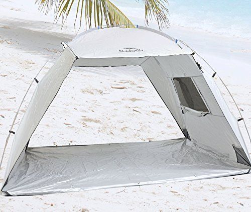 Ultimate Super Wide Beach Shelter / Tent - UPF 100+ upto 4 persons Shadezilla   sc 1 st  Pinterest & Ultimate Super Wide Beach Shelter / Tent - UPF 100+ upto 4 persons ...
