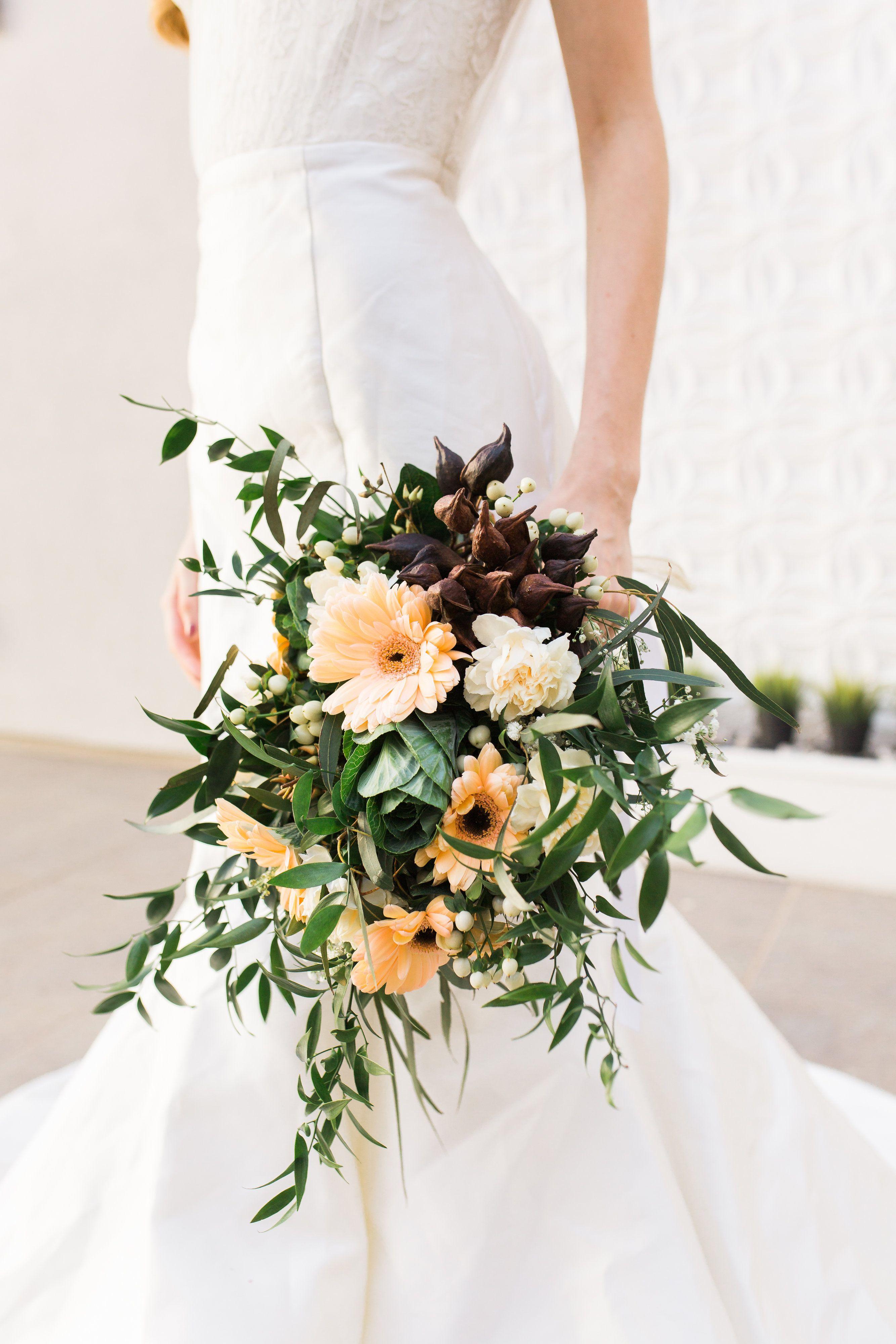 Gerbera Daisies Gerbs Daisies Bridal Bouquet Wedding Flowers