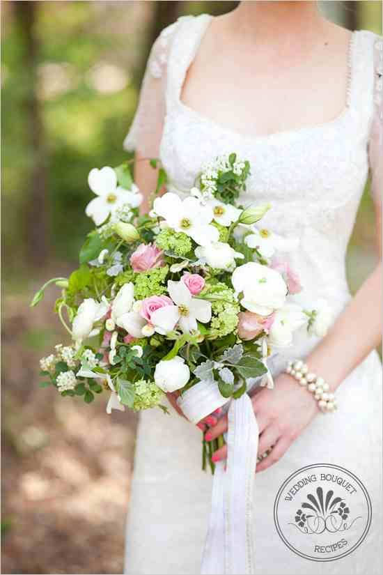 www.weddingchicks.com Dogwood Bouquet Recipe: Dogwood flowers ...