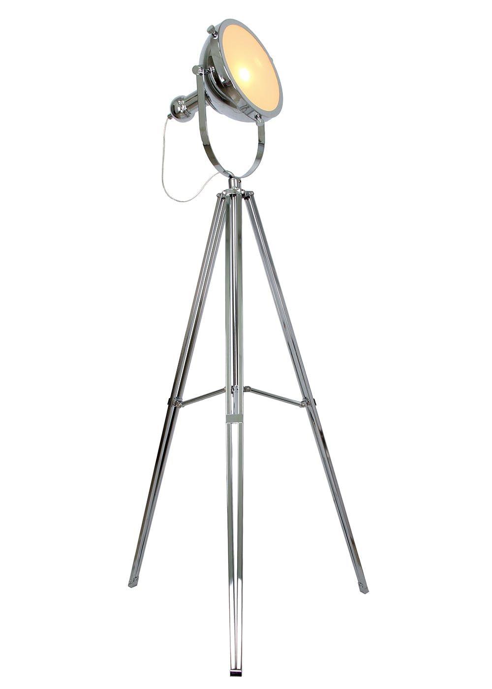 Rex Camera Tripod Floor Lamp H149cm X W76cm Silver Floor