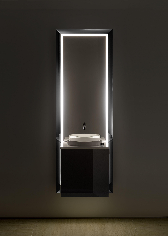 Emco M Belanlage Touch 450 Pure T Rgriff Links Spiegel Waschtisch Armatur Unterschrank Spiegel Waschtisch Waschtisch Unterschrank