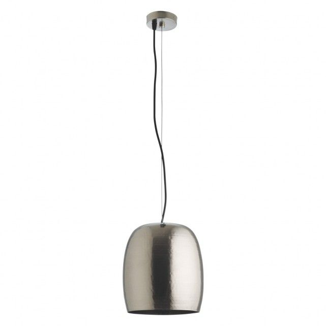 Marteau pewter mini metal ceiling light