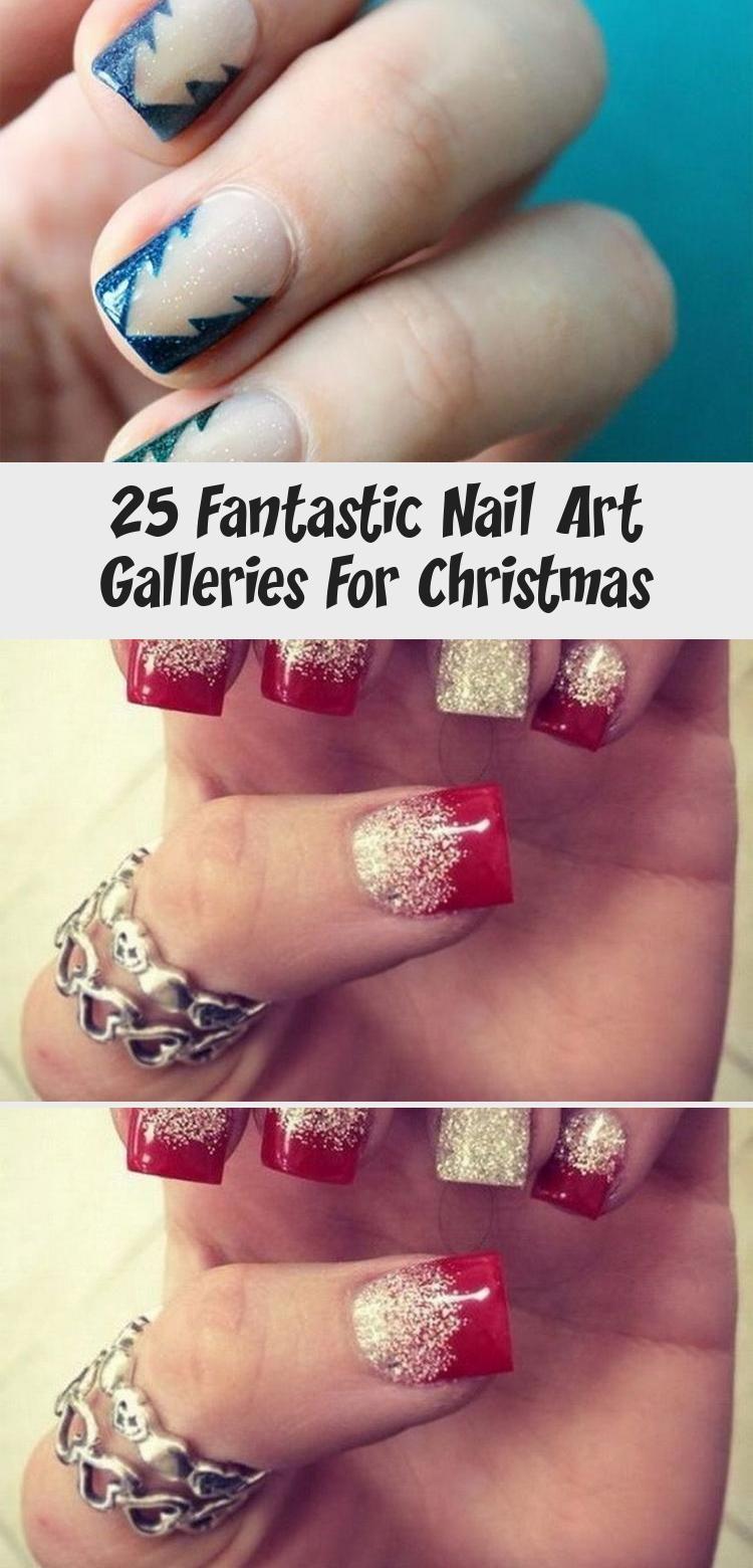 Photo of 25 Fantastic Nail Art Galleries For Christmas – Nail Art