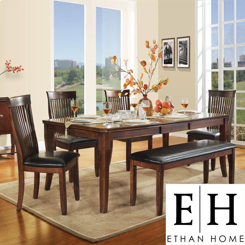 ETHAN HOME Winsford 6-piece Dining Set | Overstock.com