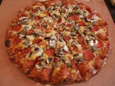 Small Round Table Pizza