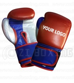 Custom Made Shine Leather MMA Sparring Training /& Competition Boxing Gloves
