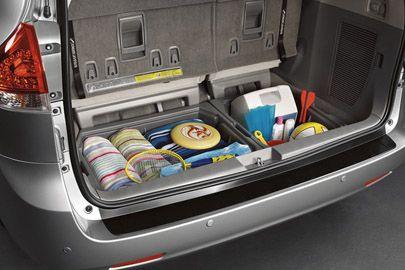 Storage Solutions Minivan Organization Van Organization Toyota