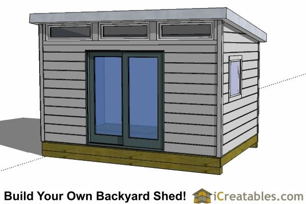12x12 shed plans build your own storage lean to or for Design your own barn