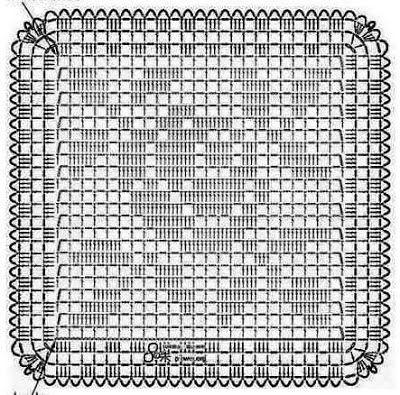 Crocheted Motif No 1469 Mit Bildern