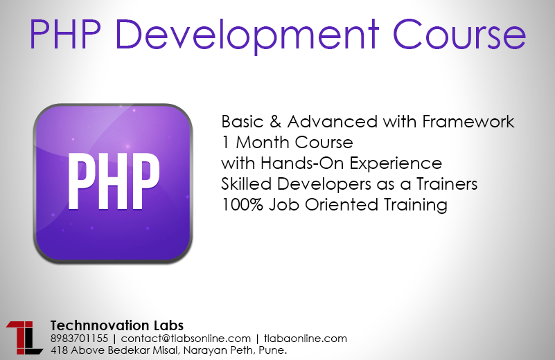 Php development course in pune by technnovation labs