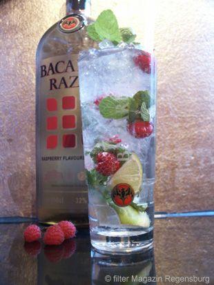 Rezept Cocktail Mojito Razz Rezept Cocktail Rezepte Mojito Minze