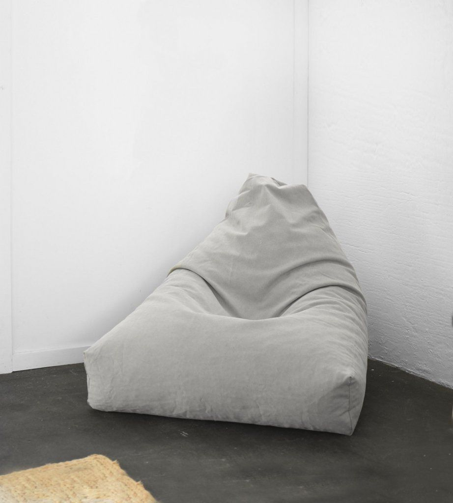Swell Chief Bean Bag Light Grey Wyatt Bean Bag Bean Bag Ibusinesslaw Wood Chair Design Ideas Ibusinesslaworg