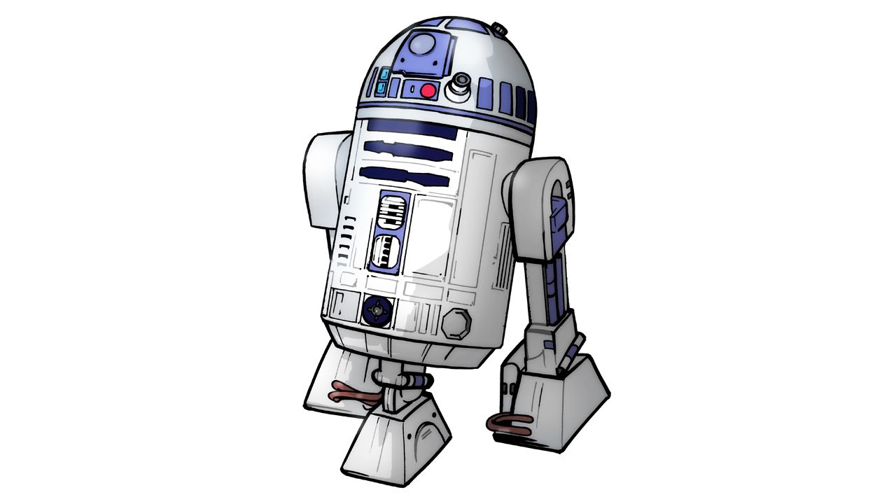 How To Draw R2 D2 They Make It Look Simple But There Is A
