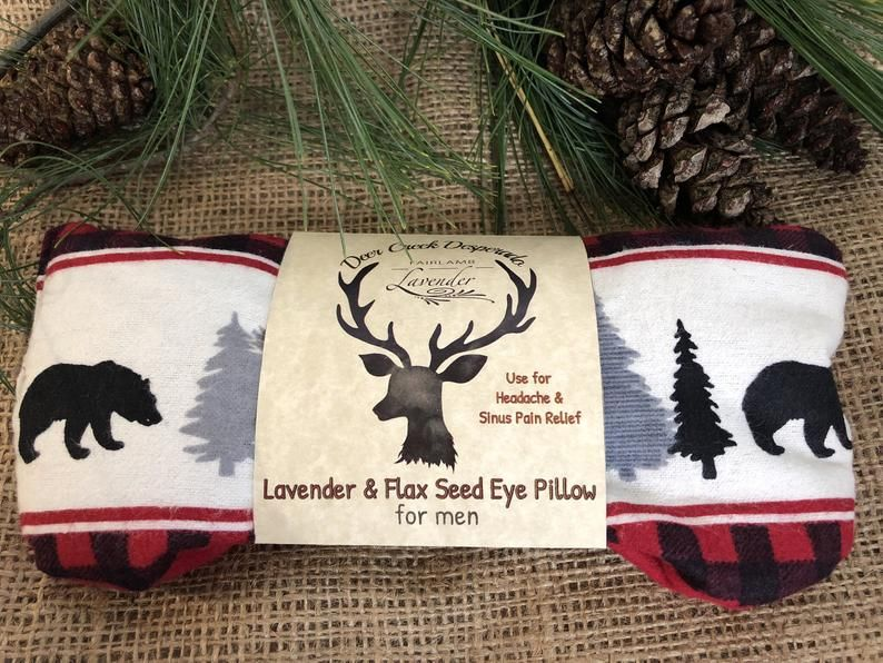 Lavender Eye Pillow For Men Headache Migraine Relief Yoga