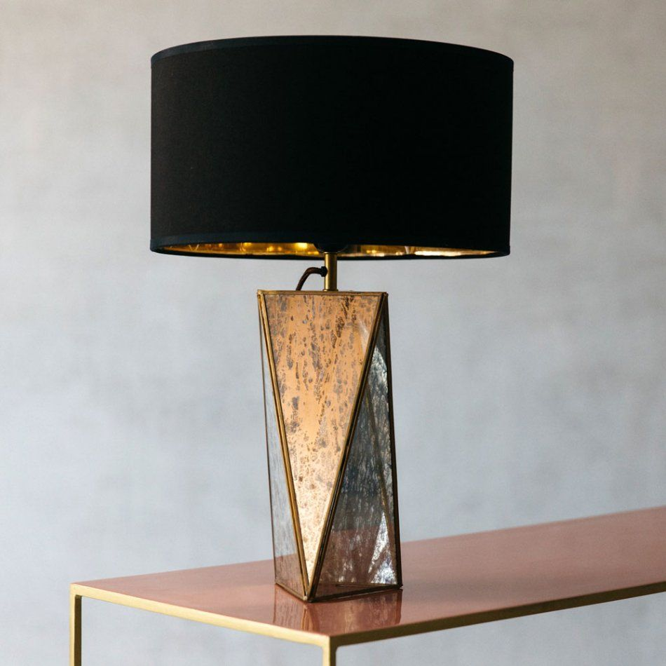 Lexi Mirrored Table Lamp Large Table Lamps Table Lamp Sets