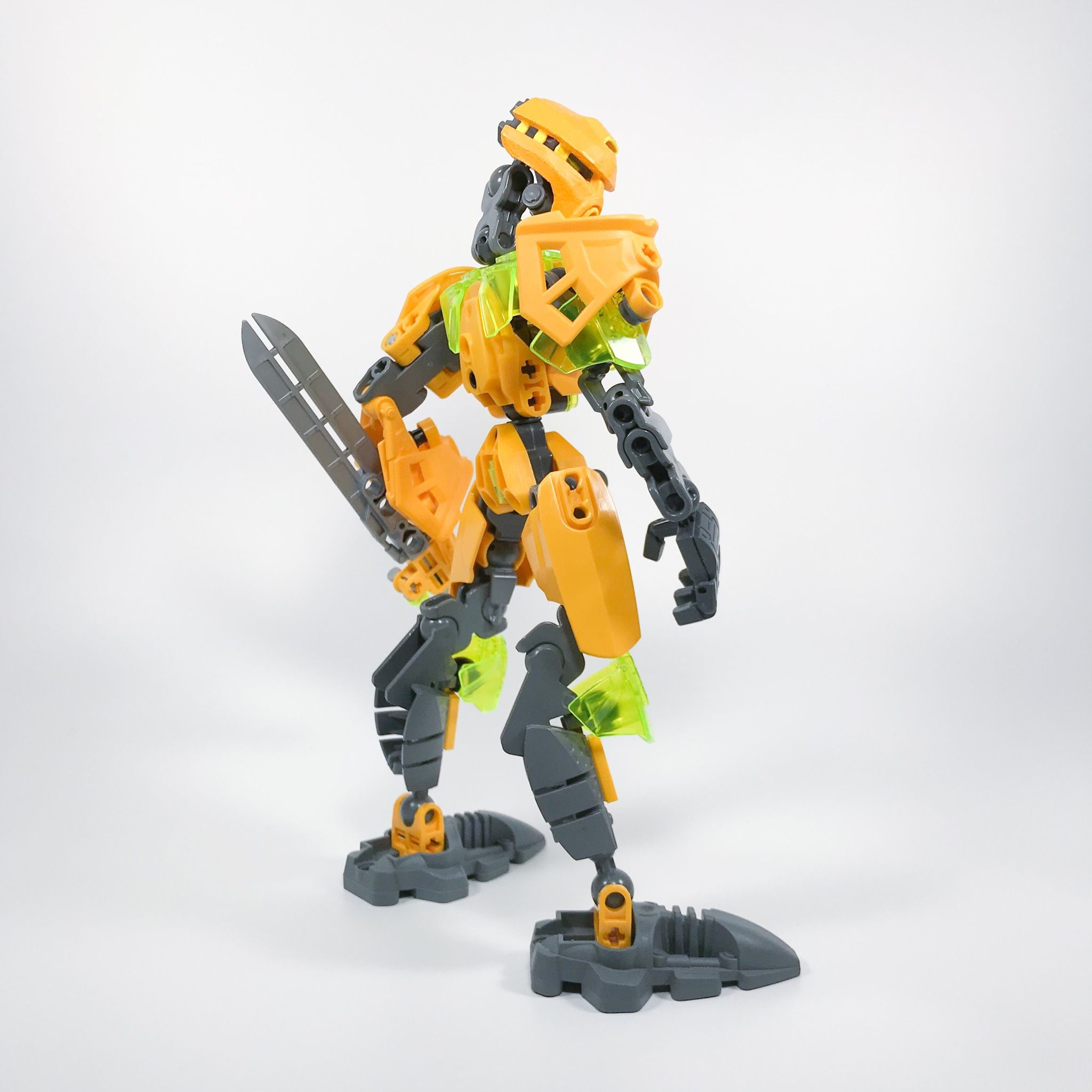 strizender sentry bot art of bionicle lego 3d printed mask