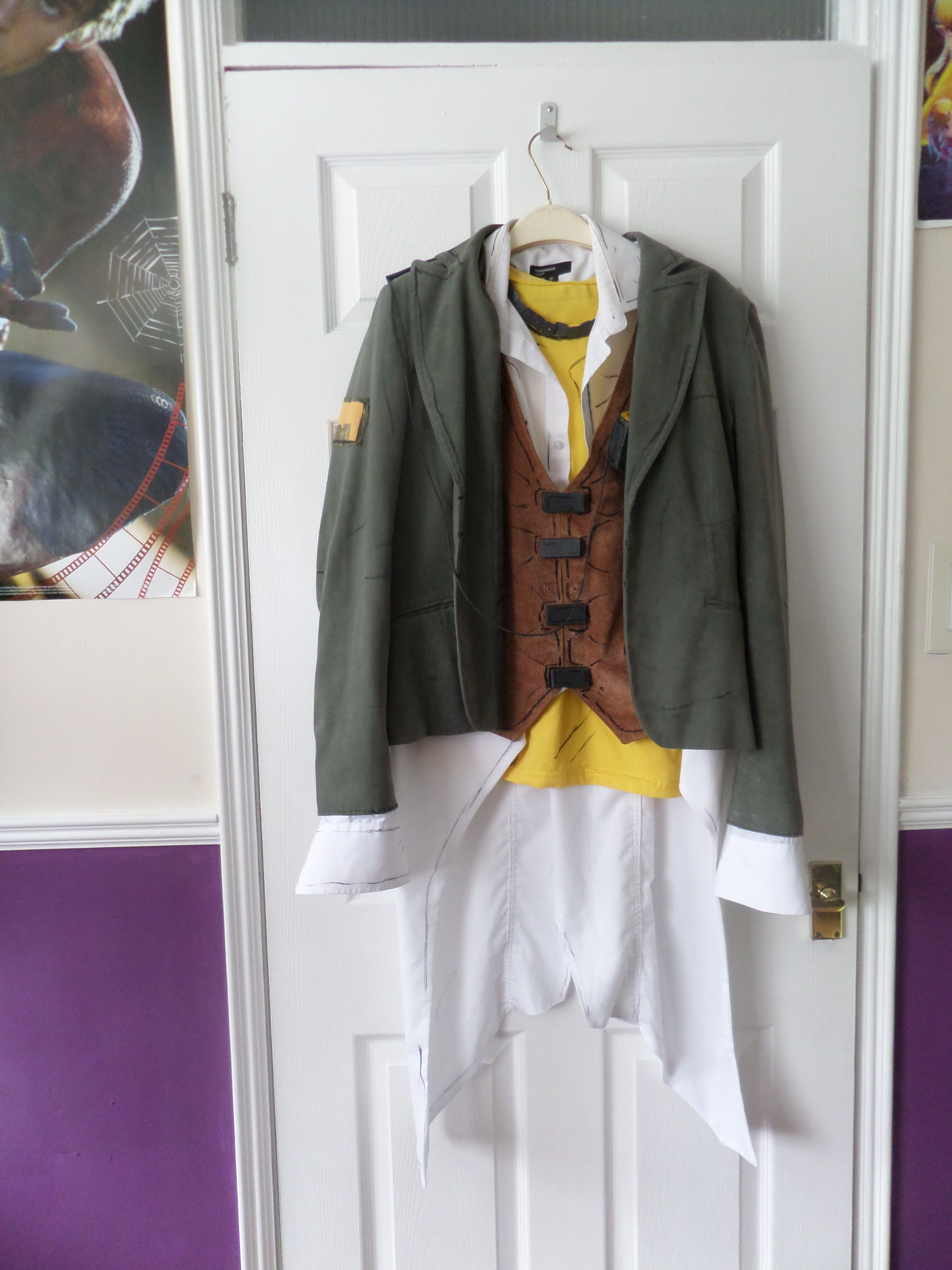 Handsome Jack`s outfit from Borderlands 2
