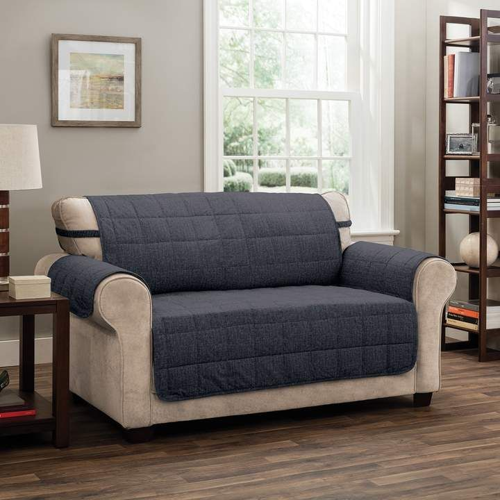 Swell Jeffrey Home Tyler Solid Xl Sofa Furniture Cover Slipcover Frankydiablos Diy Chair Ideas Frankydiabloscom