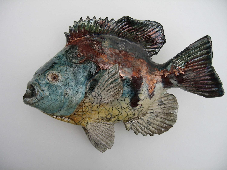Http media cache for Ceramic fish sculpture