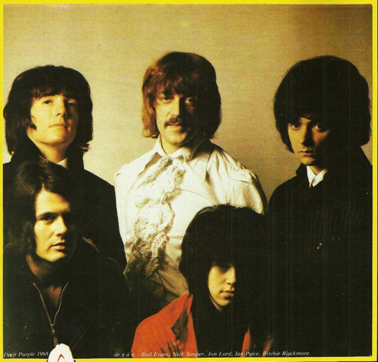 Deep Purple Deep Purple Jon Lord Roger Glover