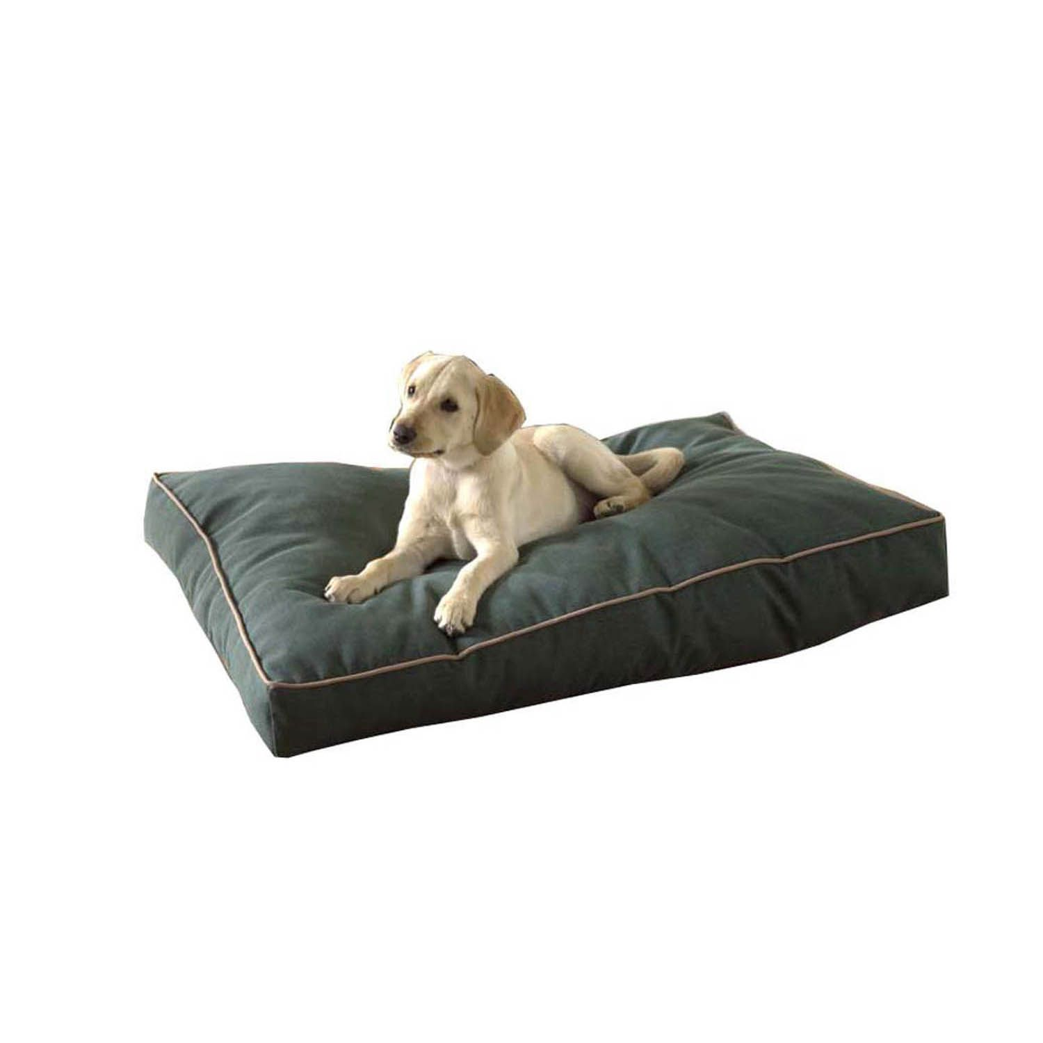 Carolina Pet Company Indoor Outdoor Jamison Green Faux Gusset Dog