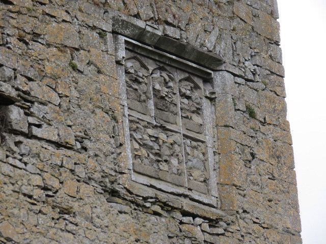 Blocked up window Woodstock Castle Athy, Co. Kildare.