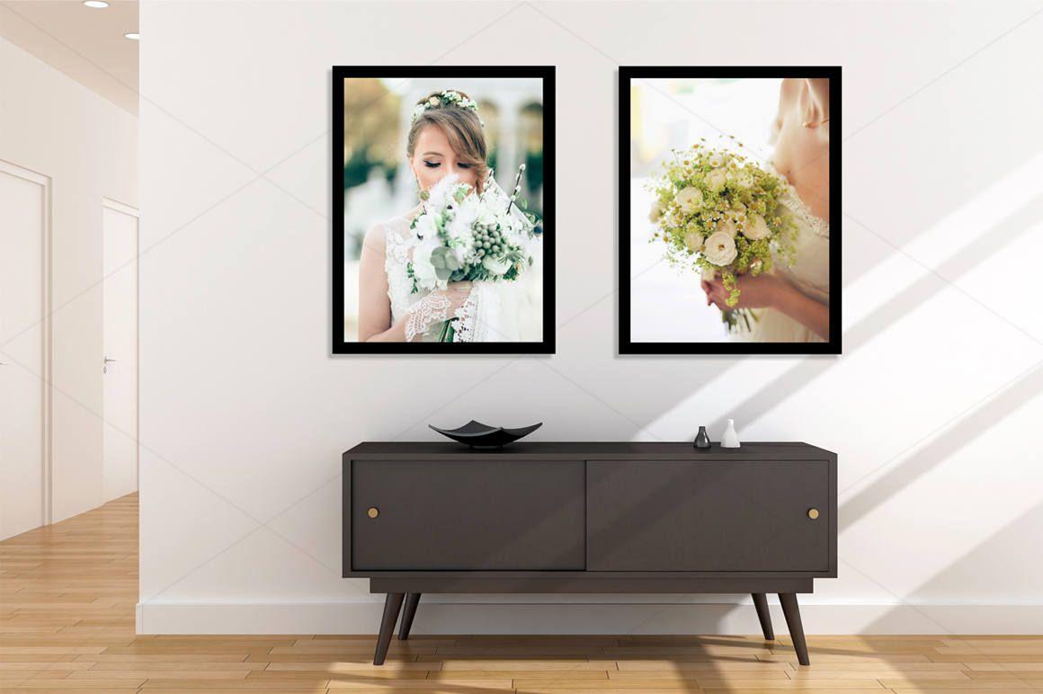 Frame Mockup, Poster Mockup, Art Mockup, Wall Mockup, Blank wall ...