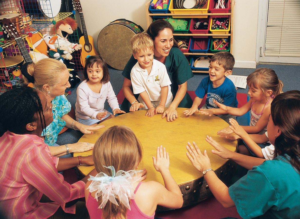 Group Therapy Session Art Therapy Children Music Therapy Music School