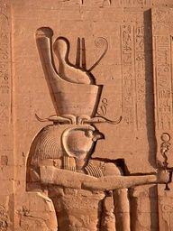Horus carving (Philae or Edfu)