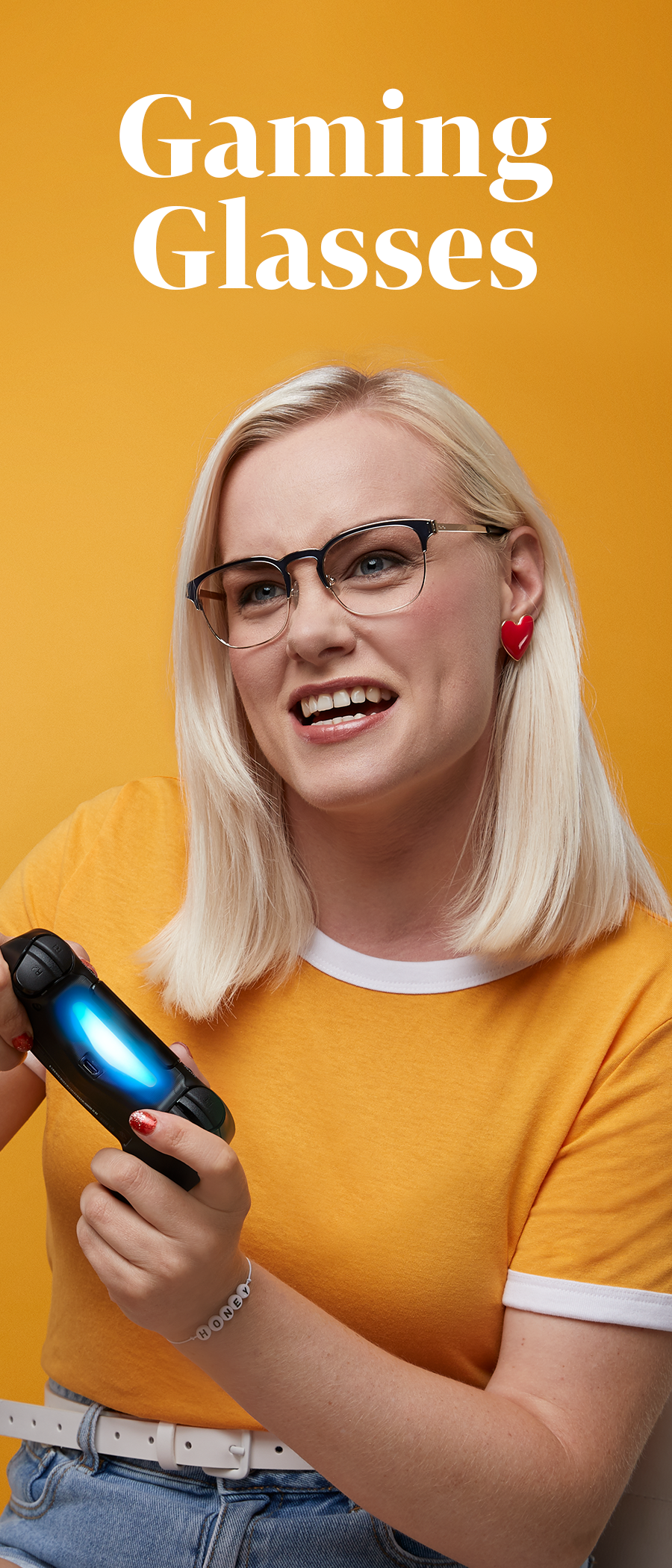 Up your game 🕹💪 Protect your eyes with Blokz, blue light