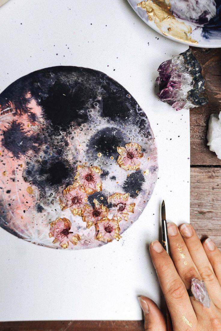 Photo of Pink Moon, Moon Art, Luna – #Art #artsy #Luna #Moon #Pink