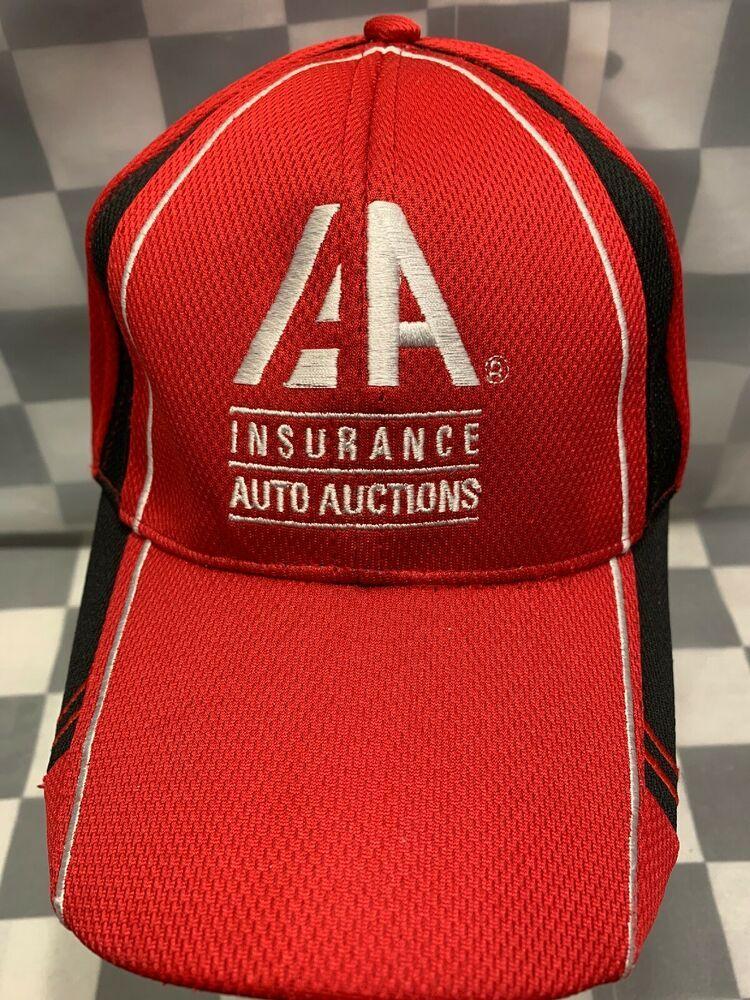 Aa Insurance Auto Auctions Adjustable Adult Cap Hat Mv3