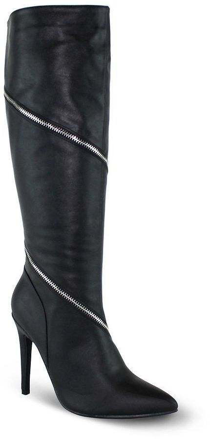 Olivia Miller Trinity Women's ... Zipper High Heel Boots buy cheap pre order 100% guaranteed sale online shopping online original free shipping 2014 ReSleBS7
