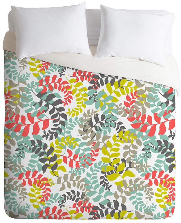 Deny Designs Heather Dutton Undertow Coral Queen Duvet Set Bedding Coral Duvet Cover King Duvet Set Duvet Sets
