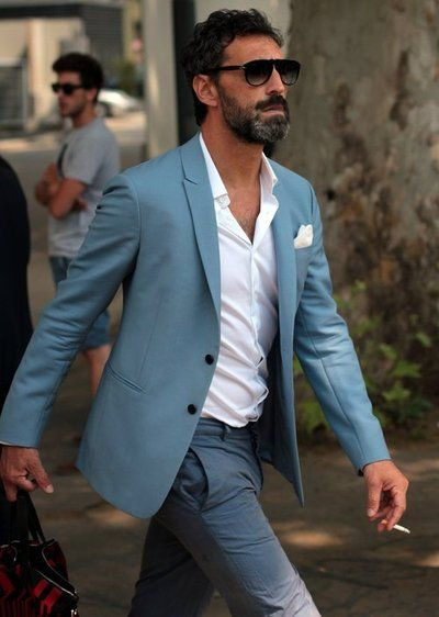 #menswear #suit #pocketsquare #dapper #street #style #Sharp Suits & Fat Skis