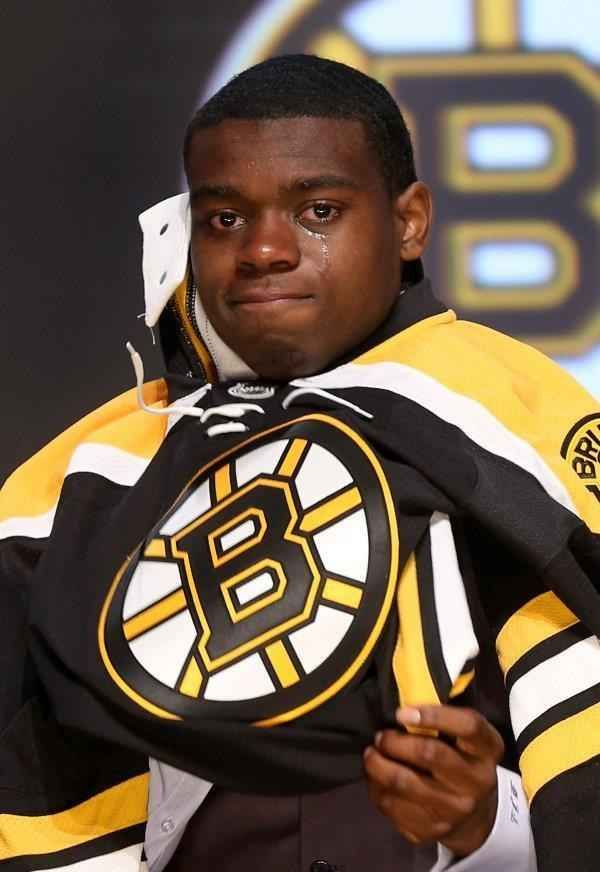 Malcolm Subban S Face After He Was Drafted In The First Round By The