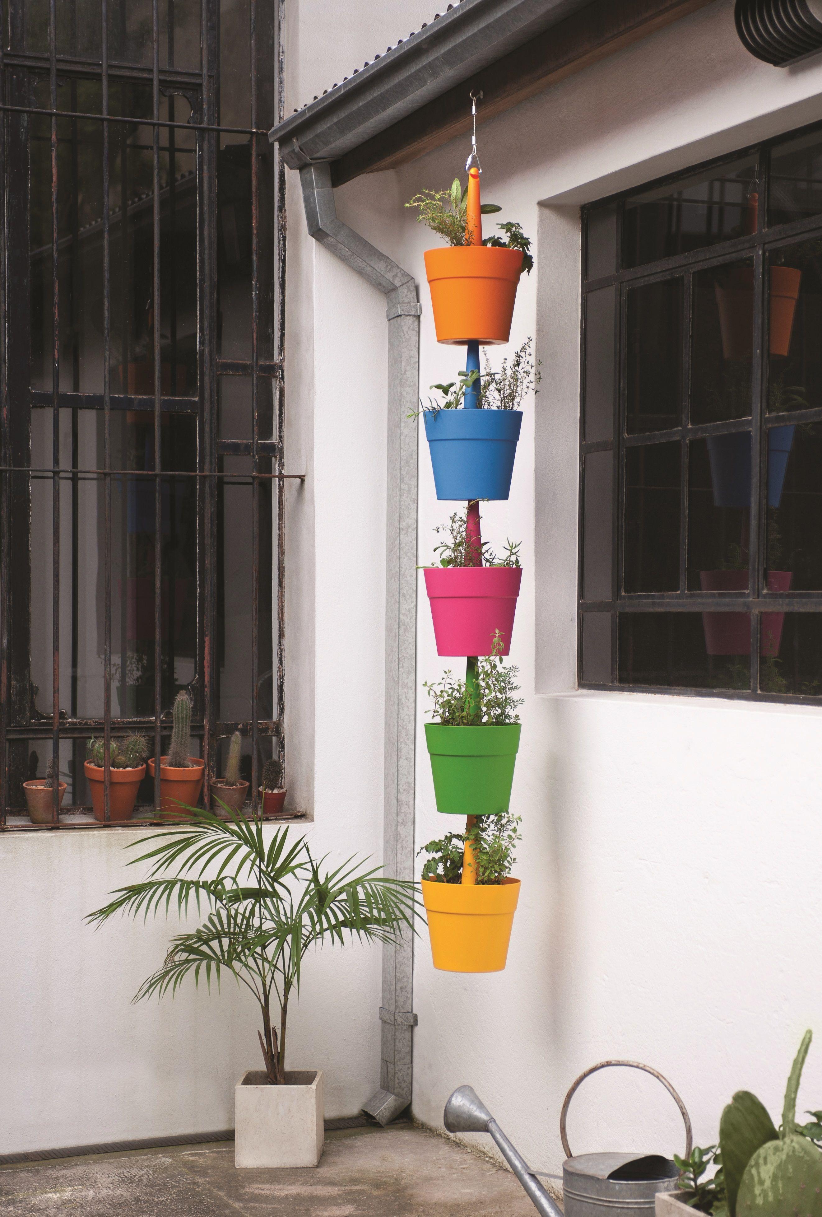 Ideas Para Distribuir Las Macetas En El Jard N Te Anim S Easy  # Muebles De Jardin Easy