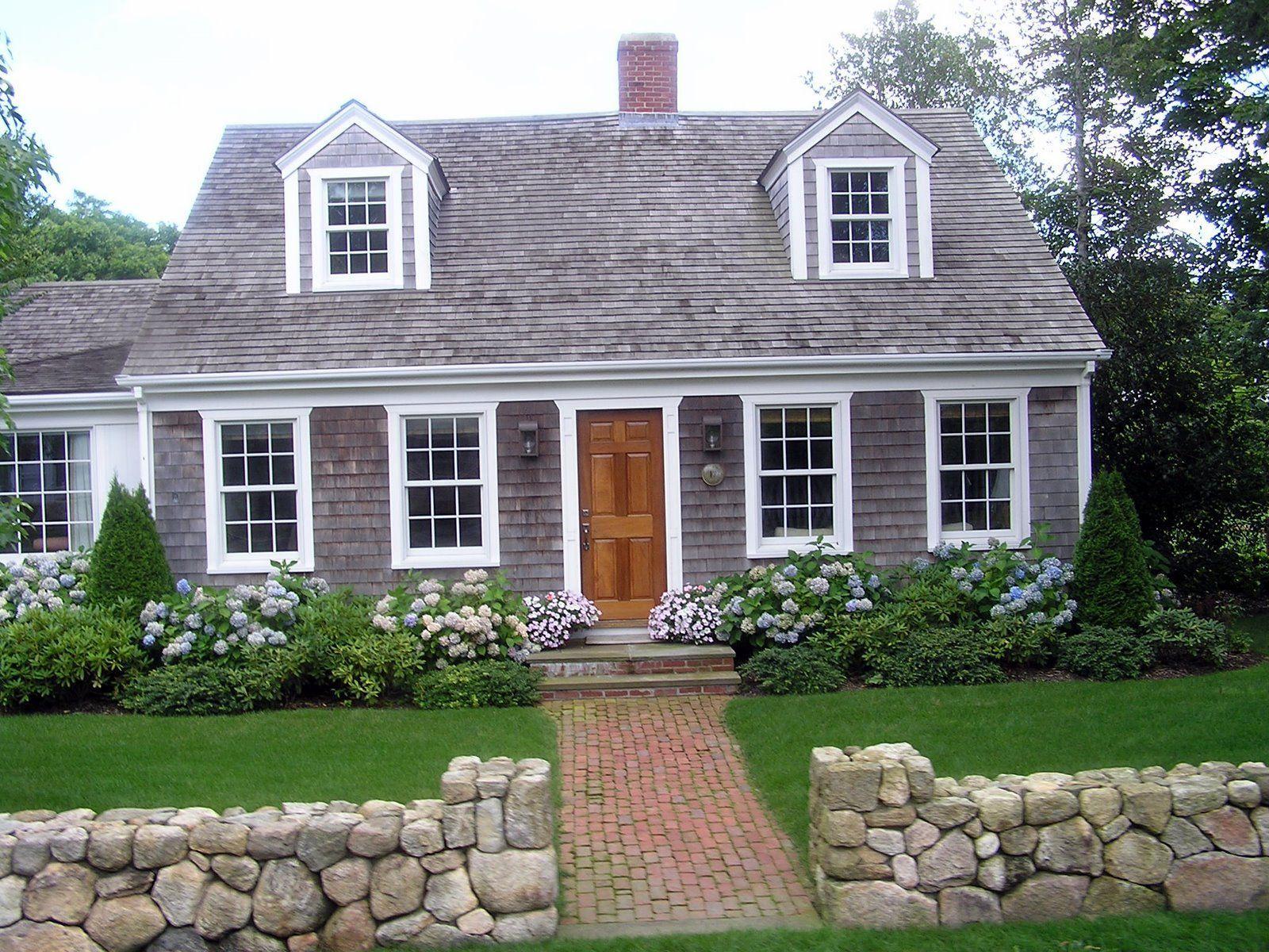 Cape Style House Outside Cod