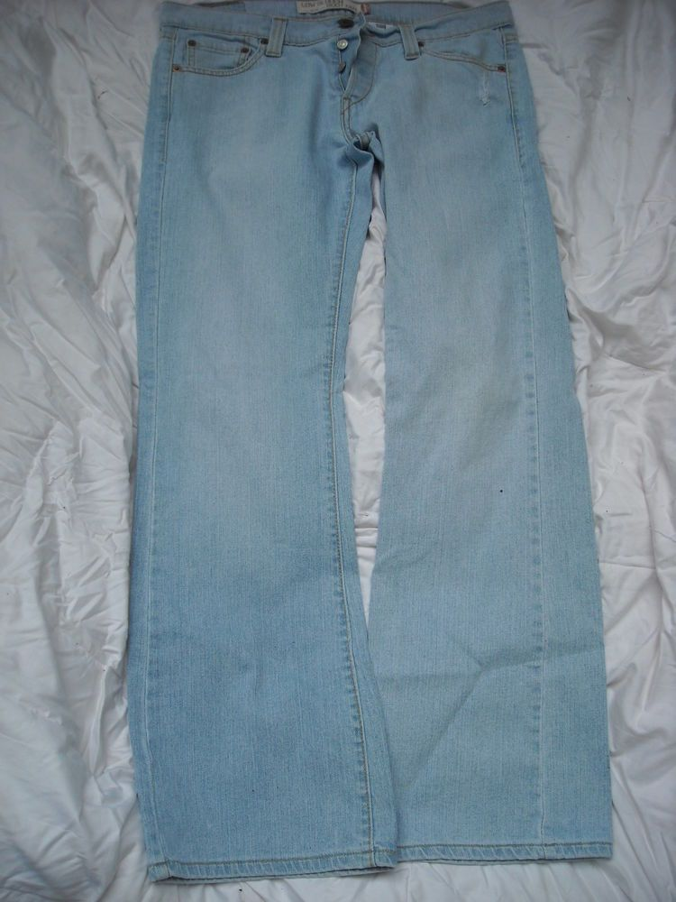 fb4e7873bd4 Women's LEVI'S 513 Low Slouch Button Fly Bootcut JEANS Sz 11 (34x32) BOOT  CUT #Levis #BootCut