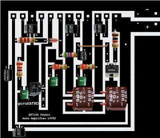 AN7164 Amplifier 12V dengan output 30W | guruKATRO | Deck ...