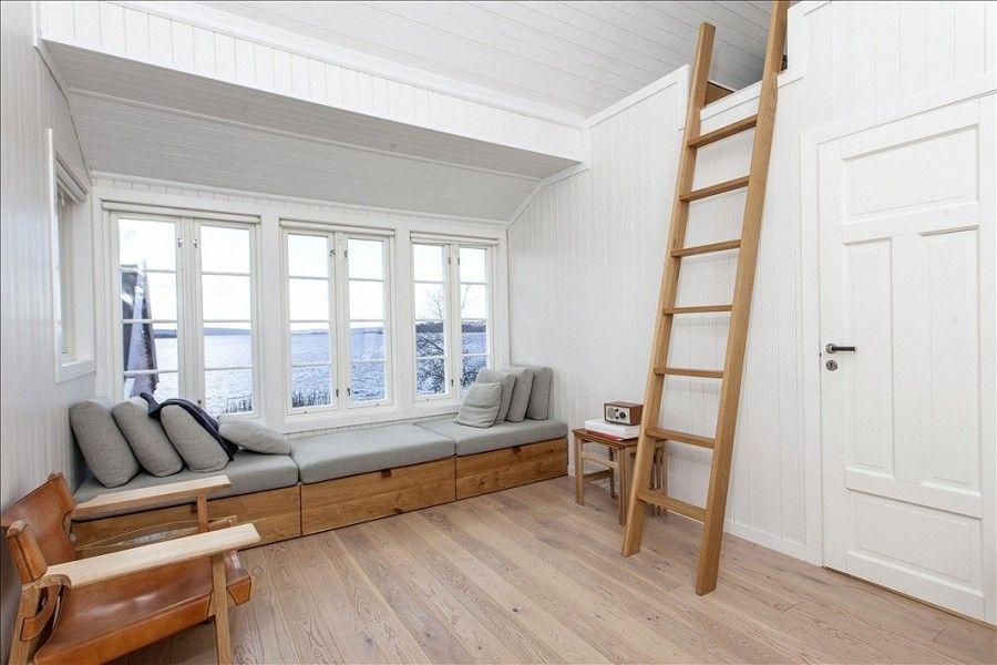 Denne lille hytten på Bleikøya