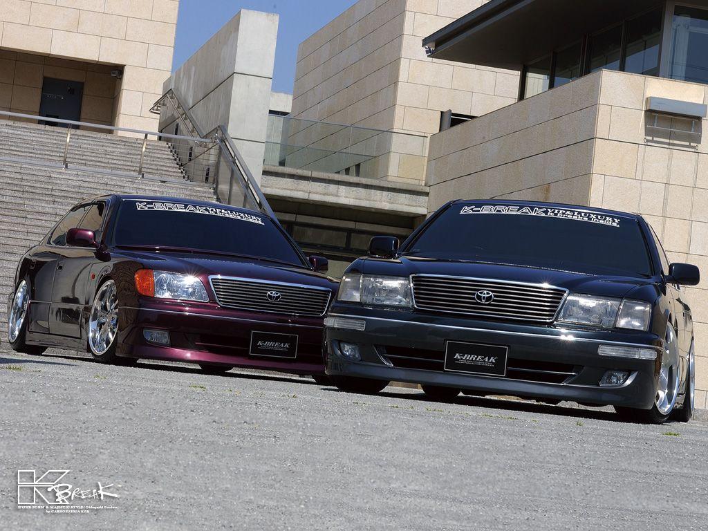 Pair of vip k break toyota celsior lexus s via http