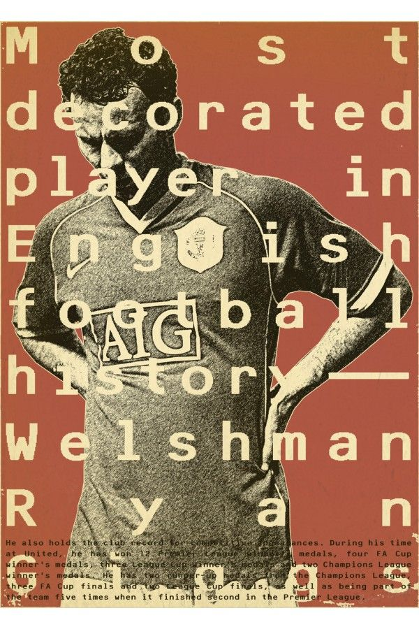Giggs #football #poster #design