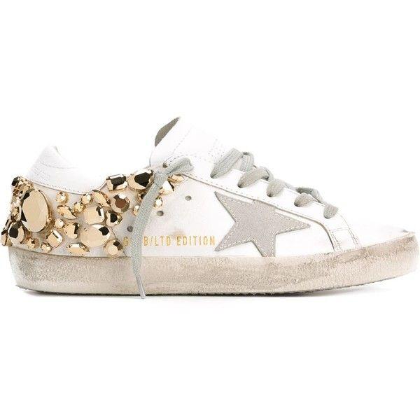 superstar sneaker floral print whiteGolden Goose U7jmILT9