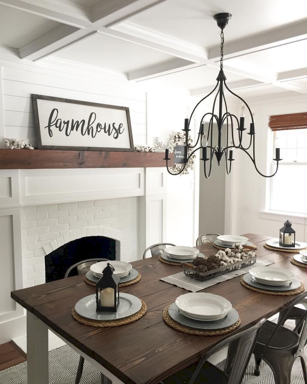 Dining Room Remodel Pictures Classy 40 Comfy Modern Farmhouse Dining Room Remodel Ideas  Modern Design Decoration