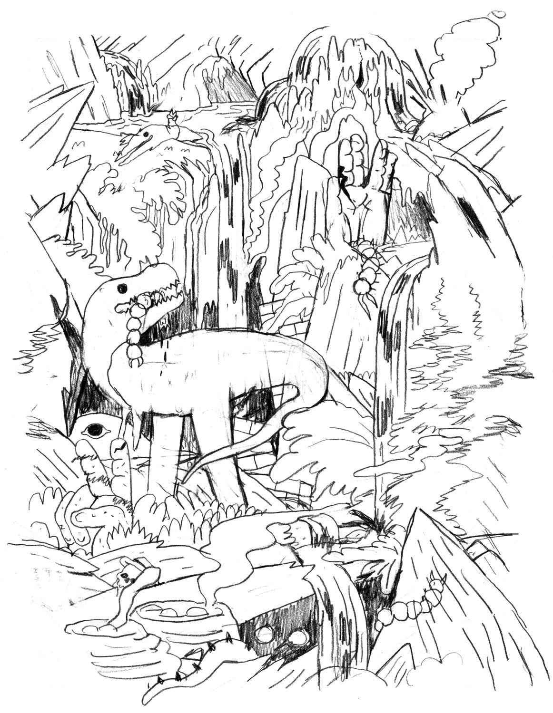 Micah Lidberg — Sketches for HUSK (2013)